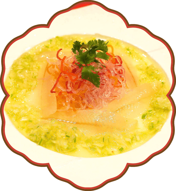 真鯛のアジアンカルパッチョ|佐貫・龍ケ崎居酒屋