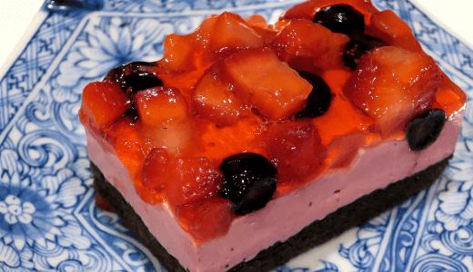 佐貫・龍ケ崎居酒屋|麺's BAR 叶多寿|ダブルベリーのケーキ