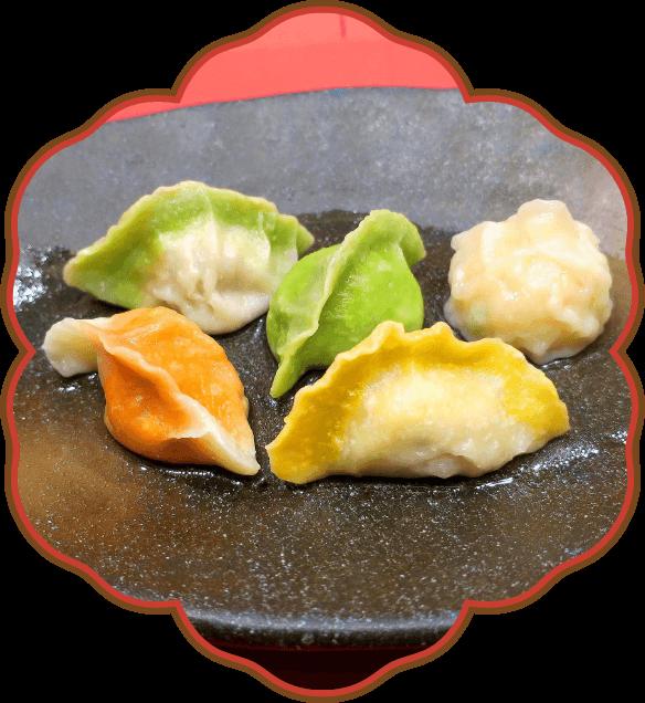 5種類の水餃子|佐貫・龍ケ崎居酒屋