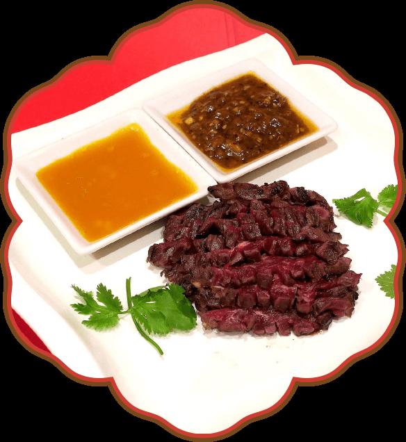熟成牛肉のたたき|佐貫・龍ケ崎居酒屋