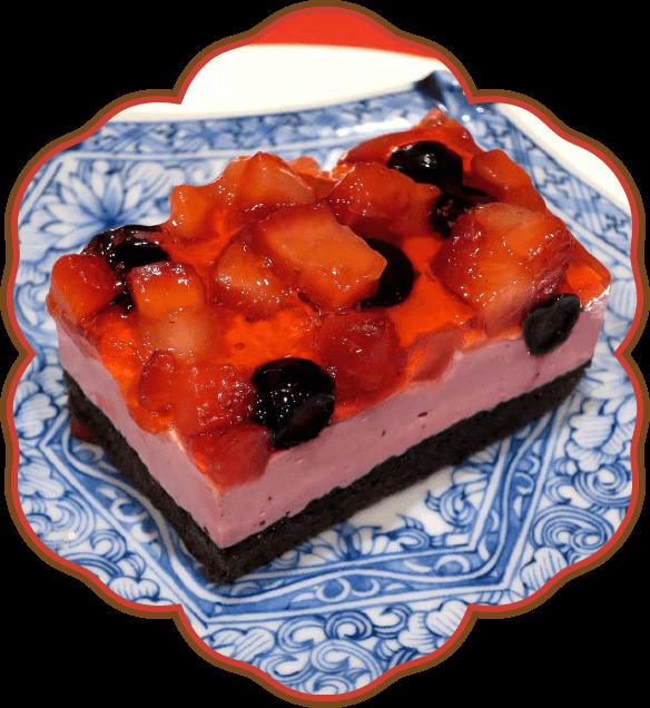 ダブルベリーのケーキ|佐貫・龍ケ崎居酒屋